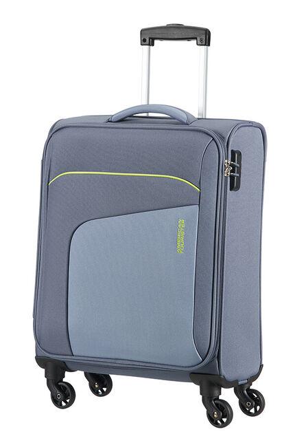 Powerup Resväska med 4 hjul 55cm