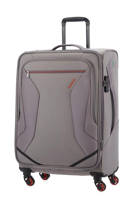 Eco Wanderer Expanderbar resväska med 4 hjul 67cm