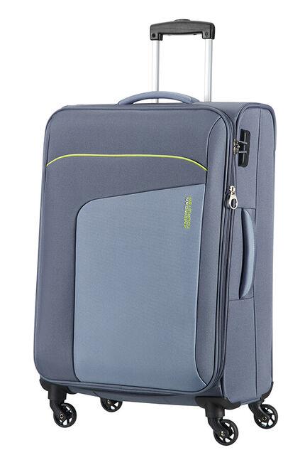 Powerup Expanderbar resväska med 4 hjul 66cm
